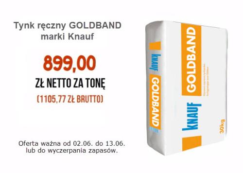Promocja Na Tynk Goldband Nie Przegap Okazji Ghb Pl Mat Budowlane