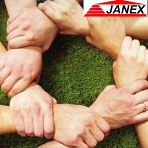 mocny team to podstawa - hurtownia budowlana Janex
