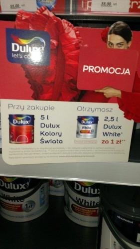 Farby Dulux - promocja - hurtownia budowlana SZAN - ghb.pl
