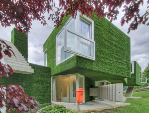 Dom z zieloną fasadą we Frohnleiten - ghb.pl - mat.budowlane10