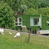Dom z zieloną fasadą we Frohnleiten - ghb.pl - mat.budowlane14