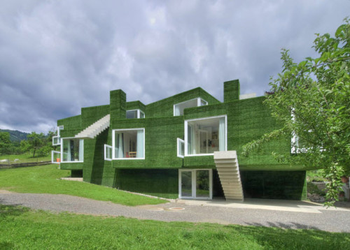 Dom z zieloną fasadą we Frohnleiten - ghb.pl - mat.budowlane5