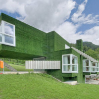 Dom z zieloną fasadą we Frohnleiten - ghb.pl - mat.budowlane7