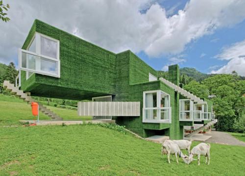 Dom z zieloną fasadą we Frohnleiten - ghb.pl - mat.budowlane8