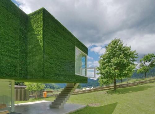Dom z zieloną fasadą we Frohnleiten - ghb.pl - mat.budowlane9