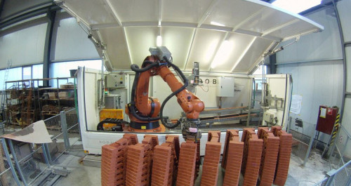 ROBmade - niezwykłe kształty z cegieł z pomocą robota4 - ghb.pl