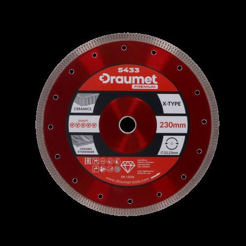 GHB 5433_DRAUMET PREMIUM tarcza diamentowa X-TYPE 230x22,23mm
